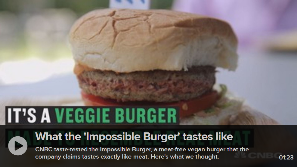 CNBC Impossible Burger