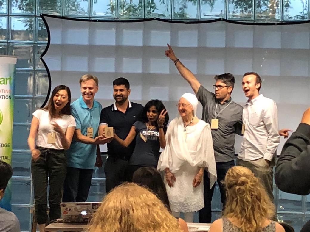 2nd Place - Global Startup Weekend (1)