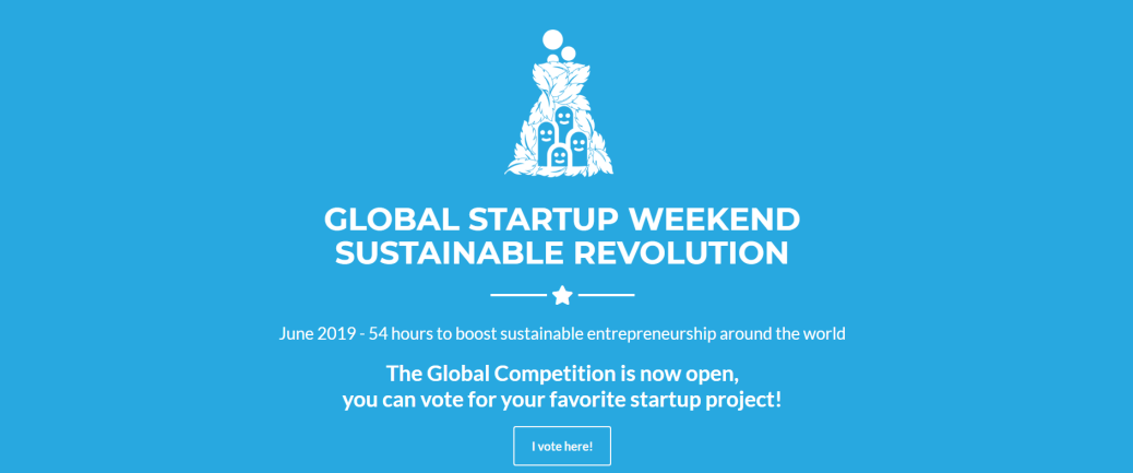 Global Startup Weekend - Vote Now